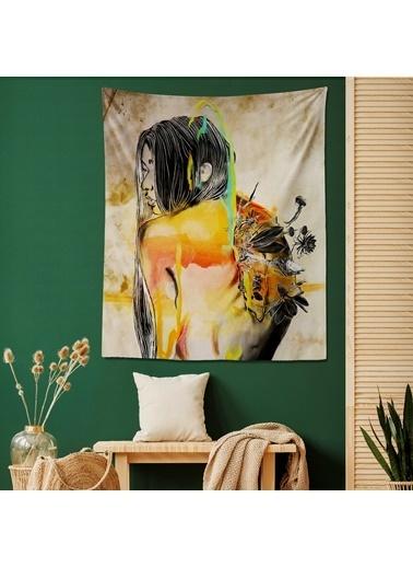 Eponj Home Tapestry Duvar Örtüsü 70x90 cm Exit Bej-Sarı Bej